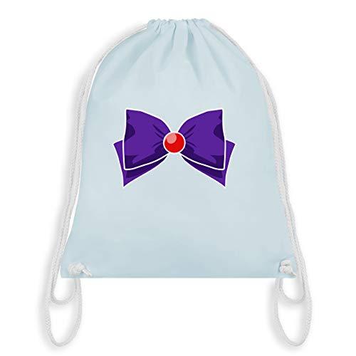 Karneval & Fasching - Superheld Manga Mars Kostüm - Unisize - Pastell Blau - WM110 - Turnbeutel & Gym Bag