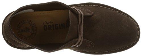 Clarks Originals Desert Boot, Polacchine Donna Marrone (Brown Sde)