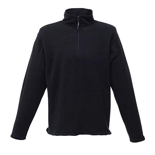 Regatta Micro Zip Neck Fleece, groß, Schwarz Micro Performance Fleece-pullover