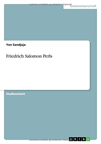 Friedrich Salomon Perls
