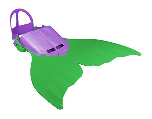 Xtrem Sports 00501 Aquatail Meerjungfrau Flosse, Größe M 6-12 Jahre, Grün (Für Mädchen Duo-kostüm-ideen)
