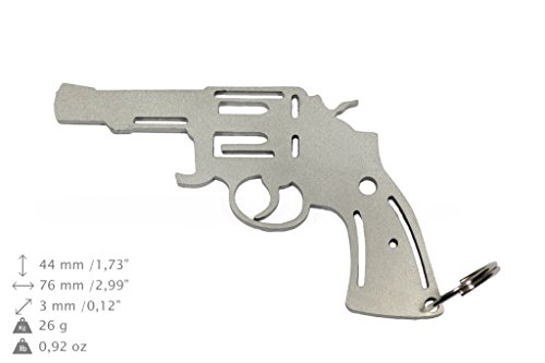 NEU, Revolver Gewehr, Flaschenöffner, Edelstahl, verschiedenen Formen, limitierte Auflage (Revolver Flaschenöffner)