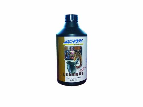 Schopf 301135 Zaumzeug und Sattelpflege, Lederöl, 500 ml