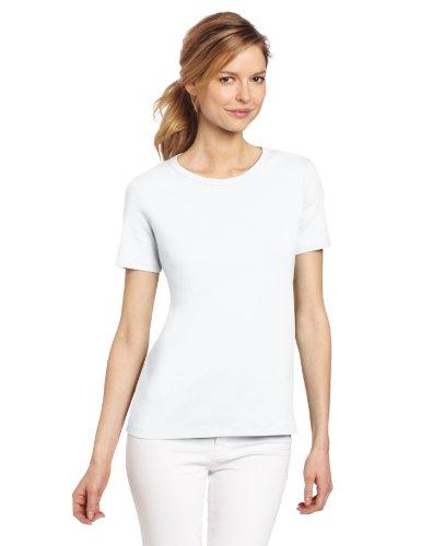 Pendleton Women's Short Sleeve Tee, White, Medium
