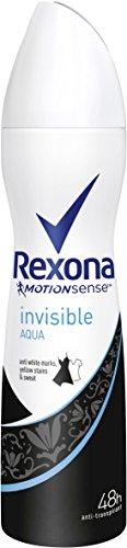 Cristallo deodorante Rexona Donne Aqua Spray Confezione da 6 x 150 ml