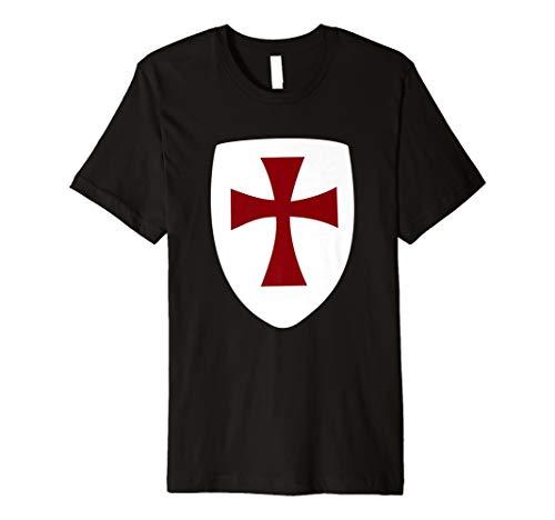 Kreuzfahrer Cross Templer Schild Halloween-Kostüm