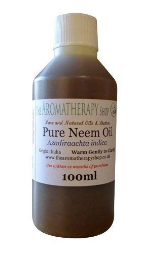 Pure Organic Neem Oil 100ml Bottle
