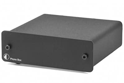 Pro-Ject Phono Box DC Stadio Fono MM/MC, Nero al miglior prezzo su Polaris Audio Hi Fi