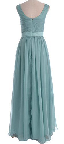 MACloth - Robe - Trapèze - Sans Manche - Femme Turquoise - Turquoise