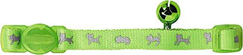 Hunter Katzenhalsband Neon, grün