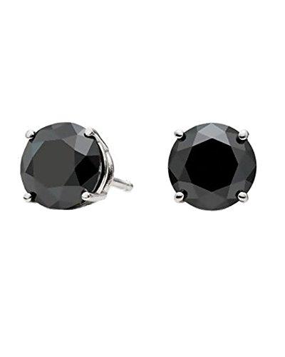 ijewelry2-negro-corte-redondo-cz-de-diamante-juego-de-cesta-de-plateado-hombre-unisex-2ct-8-mm