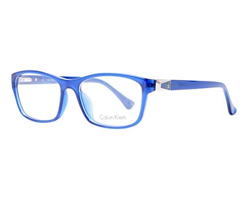 Calvin Klein Platinum - CK5861, Rechteckig, Acetat, Damenbrillen, DARK BLUE(424 B), 53/17/135