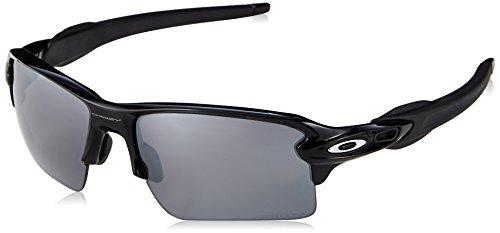 Oakley Herren Flak 2.0 XL 918872 59 Sonnenbrille, Schwarz (Polished Black/Prizmblackpolarized)