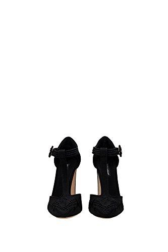 CD0440AD14880999 Dolce&Gabbana Talon Femme Tissu Noir Noir