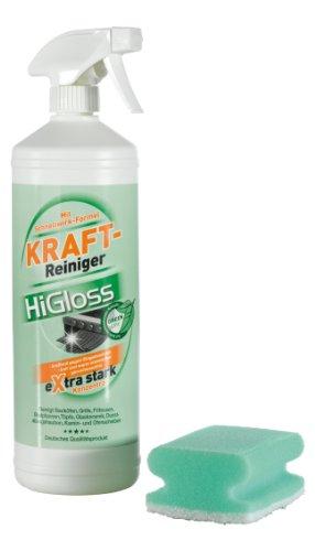 TV unser Original HiGloss Green Line Kraftreiniger, 2 x 1000 ml, Sprüher und Schwamm, 1er Pack (1 x 2 l)