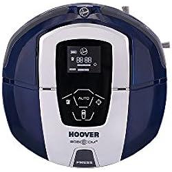 Hoover RBC030 - Robot aspirador, hasta 60 minutos de autonomía, color azul glamour