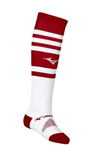 Mizuno Unisex-Erwachsene Retro Performance OTC Sock rot, Small (Performance Mizuno Socke)