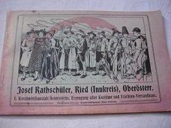 Katalog Kostüme der Fa. Josef Rathschüler, Ried (Innnkreis)