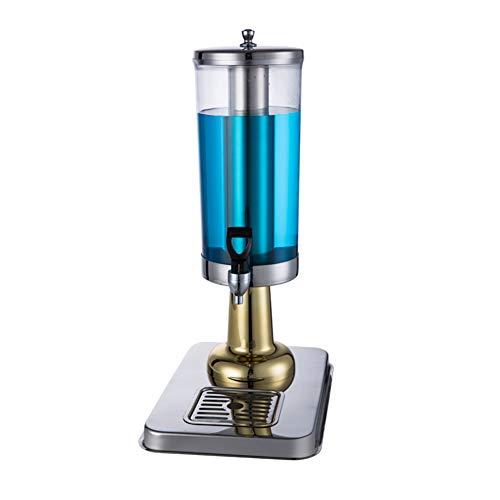 MSQL Bierspender, Bierturm-Getränkespender aus Edelstahl, Kühler und Isolierung, Home Bar-Zubehör - 3L,Gold,A