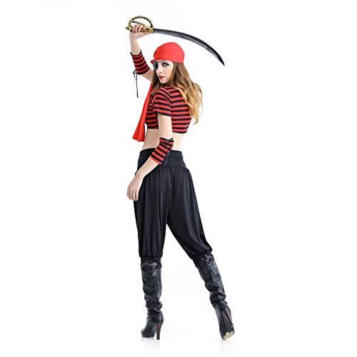 Karibik-Pirat-Kostüm für Damen, Halloween-Kostüm, Jack-Captain, Cosplay, Party, Cosplay Supplies