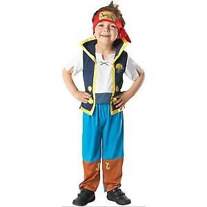 Piraten Kostüm Jake - Jake the Pirate Pirat Kinder Karneval Fasching Kostüm 92