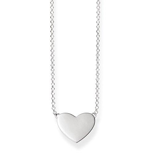 Thomas Sabo Damen-Collier Glam & Soul 925 Sterling Silber Länge von 38 bis 42 cm KE1395-001-12-L42v