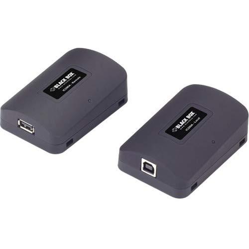 Black Box ic282Hat PROLONGATEUR Red-Repeater Netzwerk-(0,4A, 5,6cm, 8,4cm, 2,3cm, schwarz, Wechselstrom, USB) (Red Box Hat)