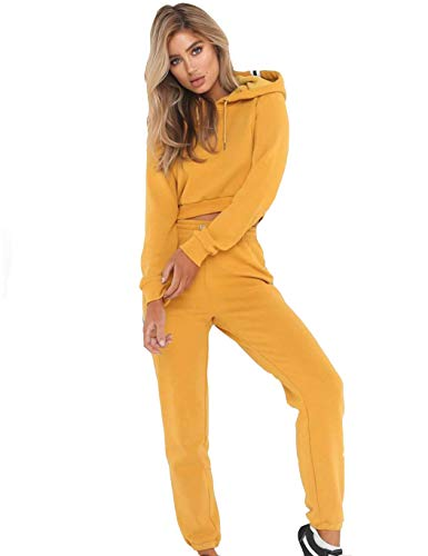 Modfine Damen Trainingsanzug Streifen Frauen Langarm Sweatshirt + Lange Hose Sportswear 2 Stück Set Sport Yoga Outfit Jogginganzug