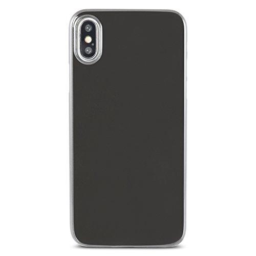 hardwrk ultra-slim Case für iPhone X - frost - ultradünne Hülle für Apple iPhone in matt klar jet black