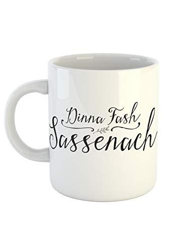 clothinx Kaffeetasse mit Aufdruck Dinna Fash Sassenach