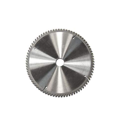 OUNONA 250 x 2.8 mm 80 Dents TCT Lame de scie Circulaire Wheel Disques pour Plastique de Coupe