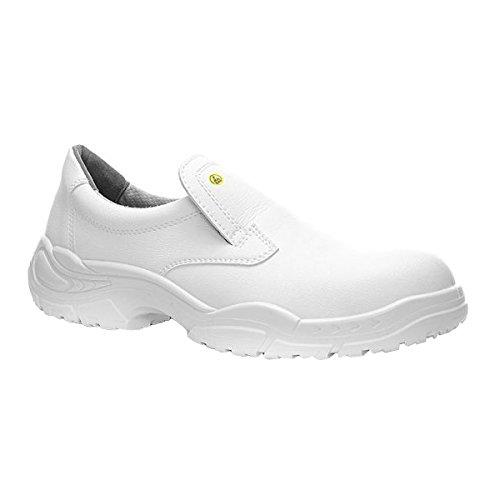 ELTEN Sicherheitsschuhe WHITE SLIPPER Low ESD S2, Herren, leicht, weiß, Stahlkappe - Maler-stiefel