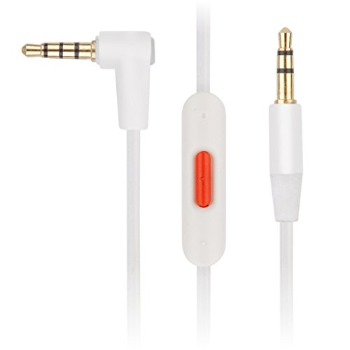 Cavo audio Reytid beats-7-var sostituzione per Apple Beats SOLO2/HD cuffie–bianco