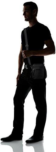 LacosteSac Homme Access Basic - Borsa a spalla Uomo Nero