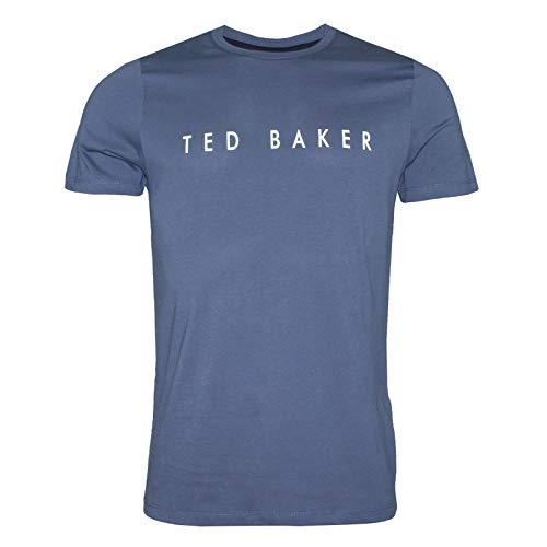 Ted Baker London Herren T-Shirt Blau blau Gr. XL, blau (Männer Ted T-shirts Für Baker)