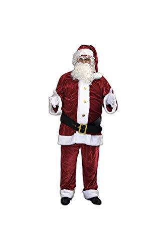 Unbekannt AEC–no2233/XL–Kostüm Pere Noel US Luxe Velours Polyester Größe XL (54–56)