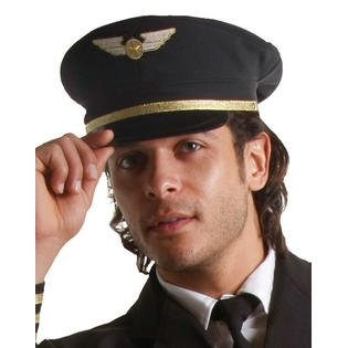 Dress Up America 401.0 Airline Pilot Hut-Kinder Kostüm Zubehör, ()