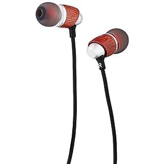 Monoprice MP10 In-Ear-Kopfhörer, MP30 mit 2 Tuning-Düsen, Holz