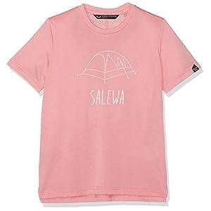 Salewa Unisex Kinder Frea Melange Dri-rel K S/S Tee T-Shirt