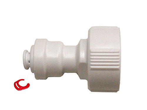 """(K) Anschluß 3/4"""" IG auf 1/4"""" Kühlschrankschlauch für Wasserfilter, Side by Side Kühlschrank, Umkehrosmoseanlage, Schlauch 1/4 Zoll (6mm)"""