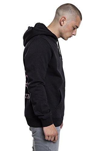 Mister Tee LA Hoodie Unisex Kapuzenpullover für Damen und Herren mit Kapuze und Känguru Tasche black