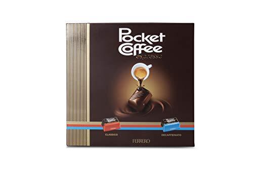 Ferrero Pocket Coffee Classico e Decaffeinato, Confezione da 20 Praline - 250 gr
