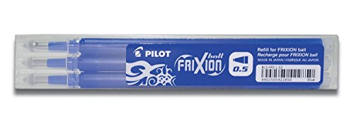 Pilot Frixion Ball Mine 0.5 blau 9er Set