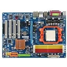 Gigabyte GA-M56S-S3 - Placa base ATX nForce 560 (Socket AM2, UDMA133, ATA-300 (RAID), Ethernet, FireWire, audio de alta definición, 8 canales)