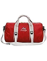 Banggood ELECTROPRIME Unisex Large Travel Duffel Bag Foldable Luggage Sport Gym Shoulder Bag Red