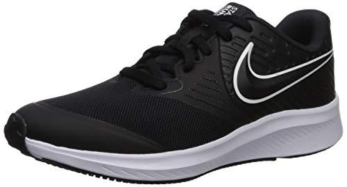 Nike Star Runner 2 (GS), Scarpe da Running Unisex Bambini, Nero White/Black/Volt 001, 36 EU