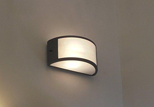 Plafoniera Soffitto E27 : Plafoniera da esterno lampada applique e parete soffitto v