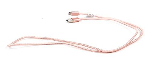 Pinkes Sync- Ladekabel (USB/Mikro USB) für Polaroid Sofortbildkameras & Fotopapier/Zip Mobildrucker