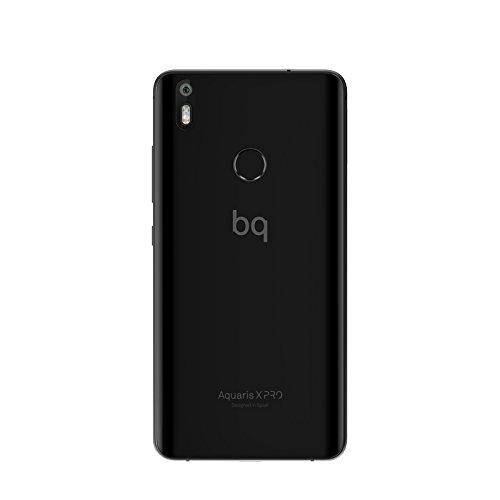 BQ Aquaris X Pro   Smartphone de 5.2   (4G+  WiFi  Bluetooth 4.2  Qualcomm Snapdragon 626 Octa Core  32 GB de memoria interna  3 GB de RAM  cámara de 12 MP  Android 7.1.1 Nougat) negro