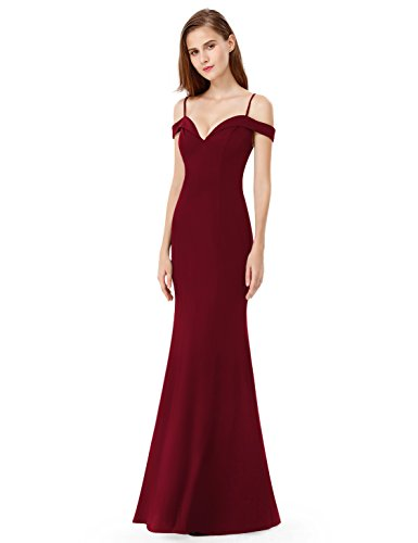 Ever Pretty Women's V Neck Off The Shoulder Sweetheart Neckline Evening Party Dresses 07017